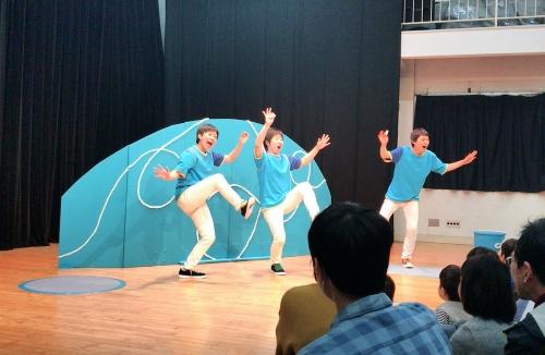 【公演のお知らせ】2018.7.22『小さい劇場~まるさんかくしかく』